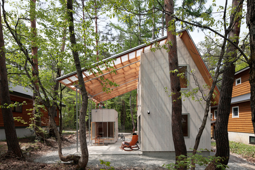 Japanese home with a smart design