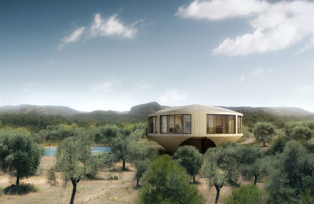 Round house offers incredible design and spectacular views