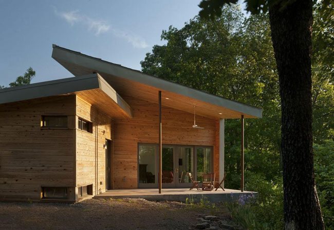 Special forest home with amazing views