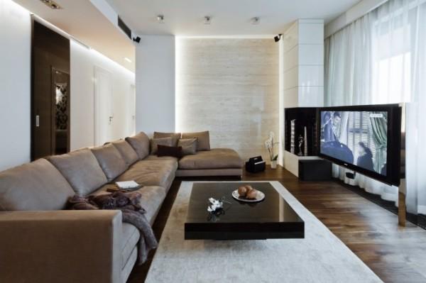 Stylish apartment interior