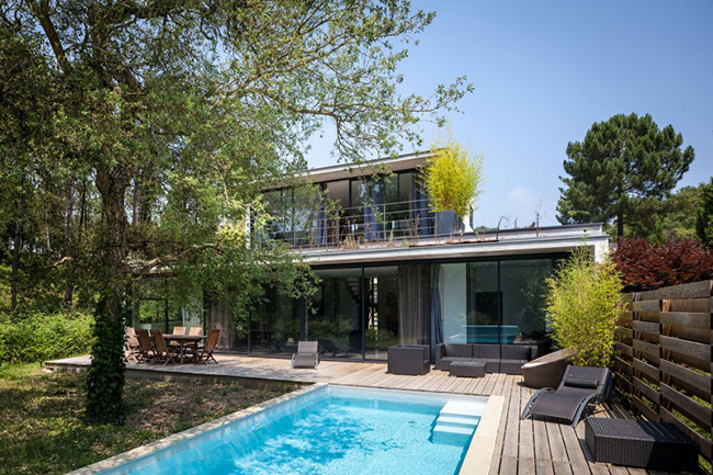Two story house in France