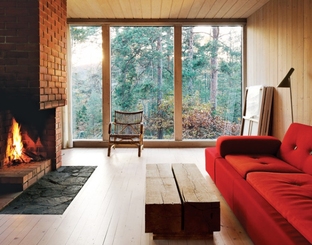 Wood retreat perfect for relaxation