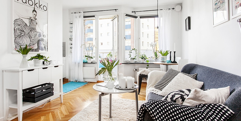 Beautiful tiny apartment discoveries