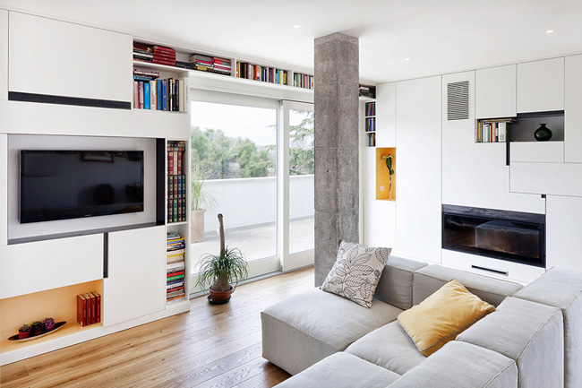 Bright penthouse ideas