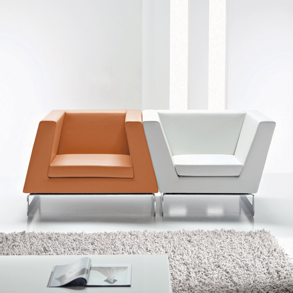 Contemporary designer furniture in a minimalist style
