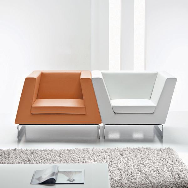 Contemporary designer furniture in a minimalist style