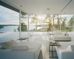 Glass summer house in Sweden