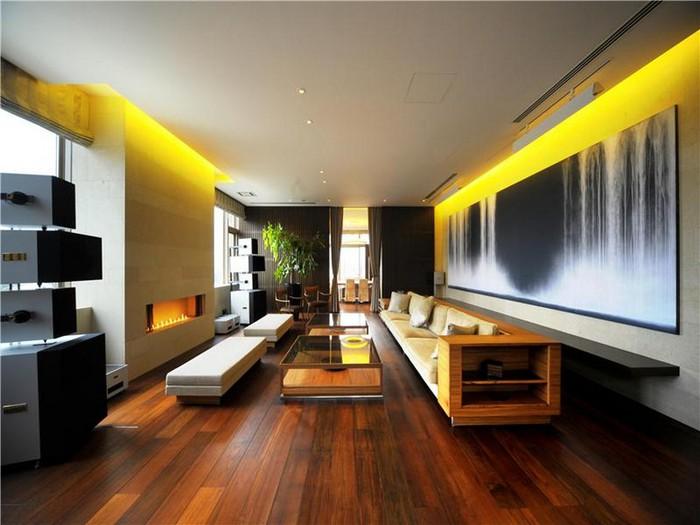 Luxurious apartment interior in Tokyo