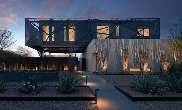 Nevada desert home