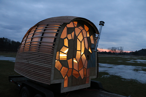 Stunning and unique trailer home