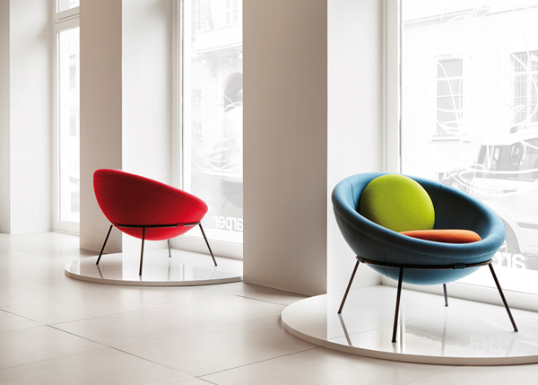 The Bowl Chair - fashionable and unique piece of furniture