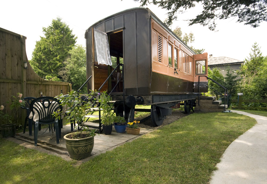 Vacation nomads would just love this restored van