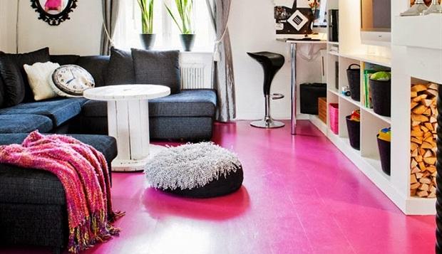 Restoration magic: a colorful house