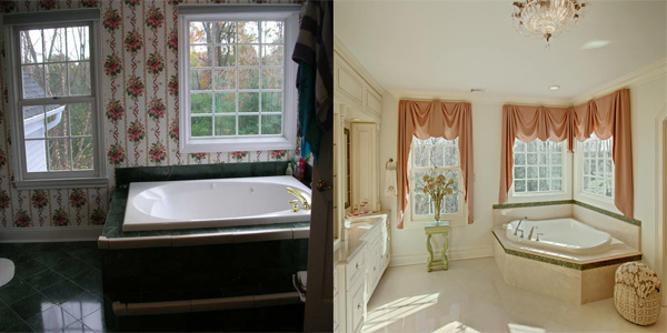 Interior transformations: before and after projects by Sheila Rich Interiors