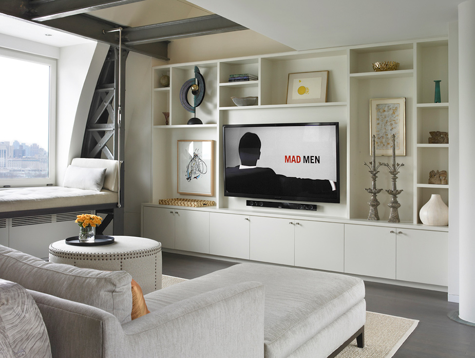 50 shades of gray: a modern penthouse that takes gray to the next level