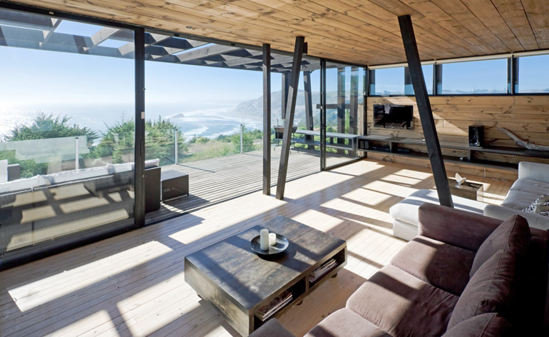 A contemporary timber house that lets the wind in
