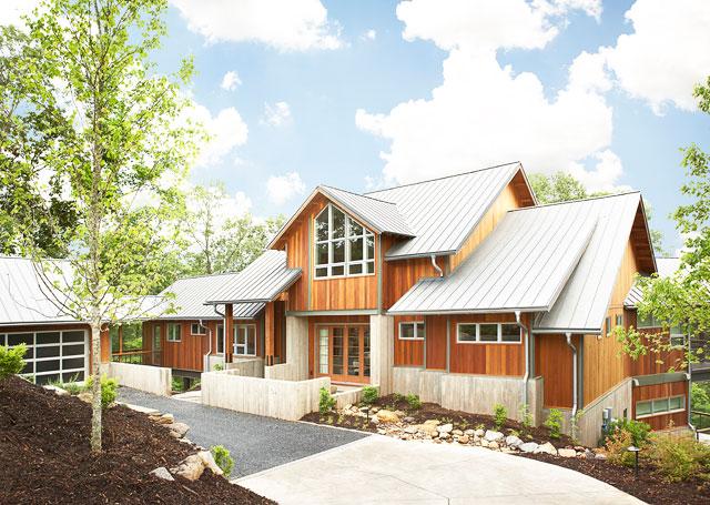 Contemporary mountain residence