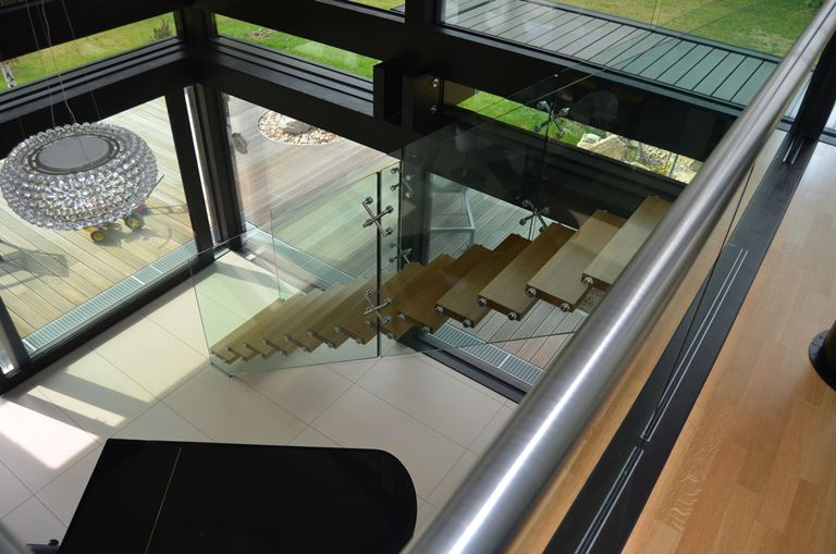 Contemporary staircases can make a home
