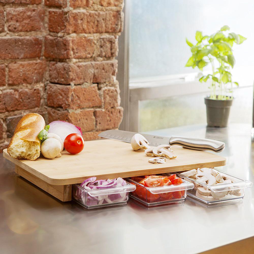 Cutting Board With Storage