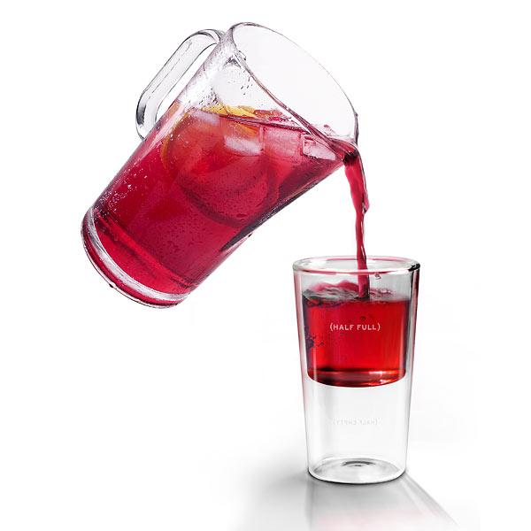 Half full glass