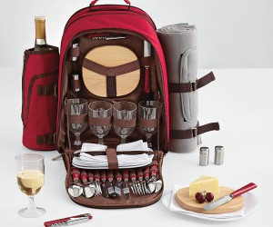 Handy picnic backpack