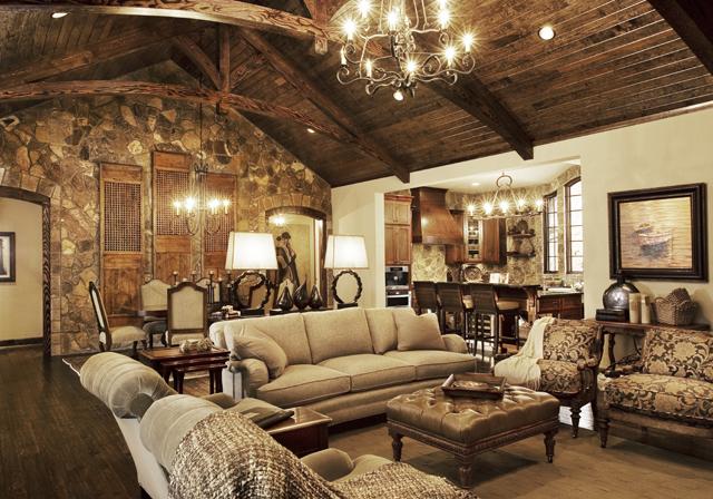 Lovely lake house design