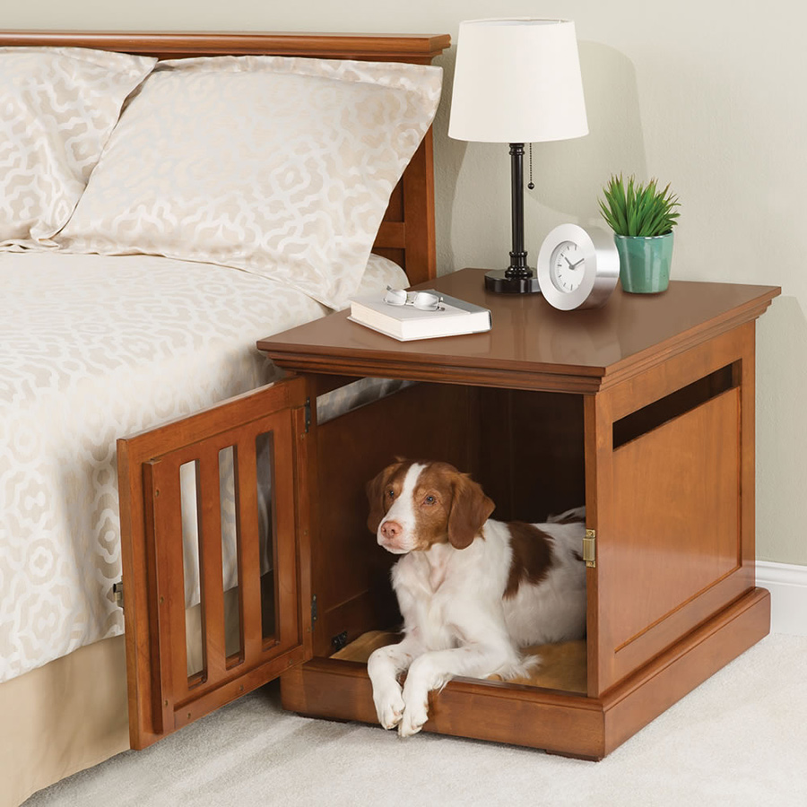 Nightstand Dog House Adorable Home