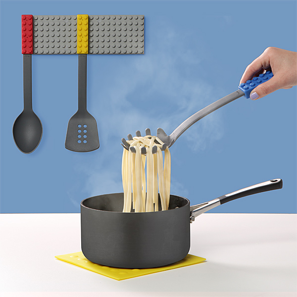 Stackable kitchen utensils