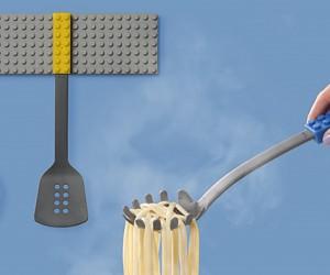 Stackable kitchen utensils