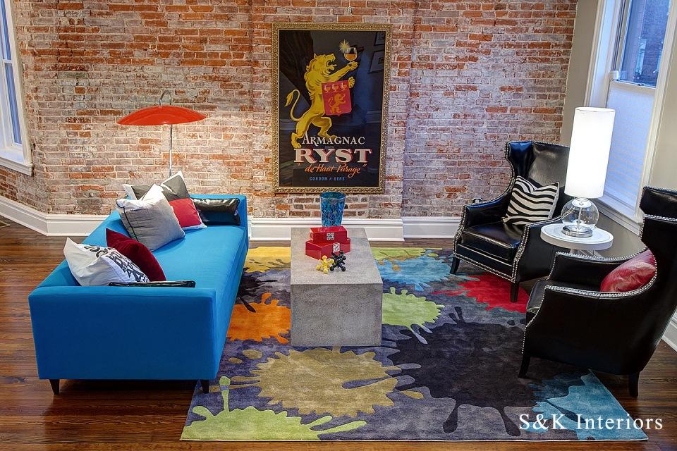 Stylish urban interior design