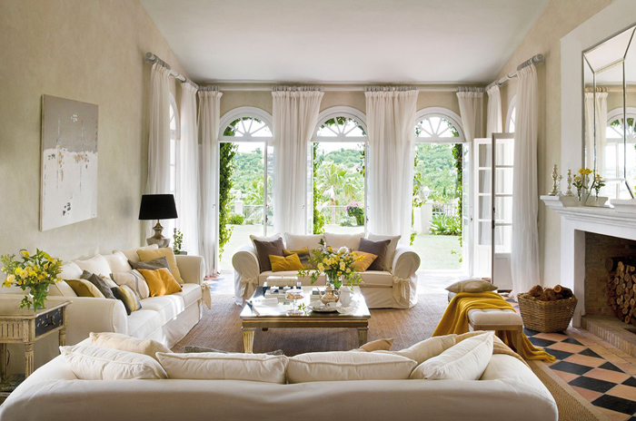 Sunny house in Spain