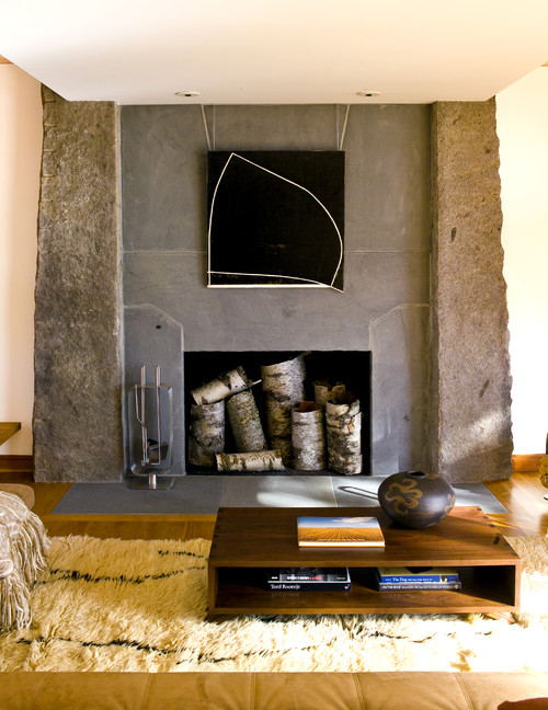 Inside Fireplace Decor how to decorate a fireplace for the summer – adorable home