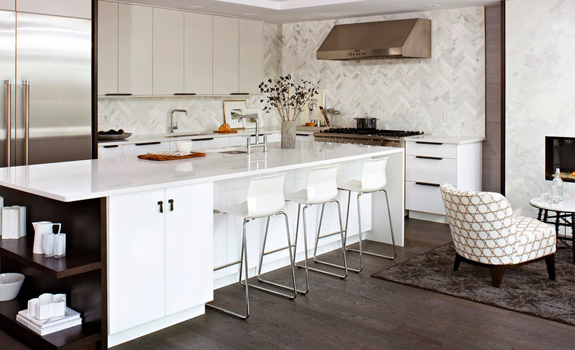 beautiful white kitchen design
