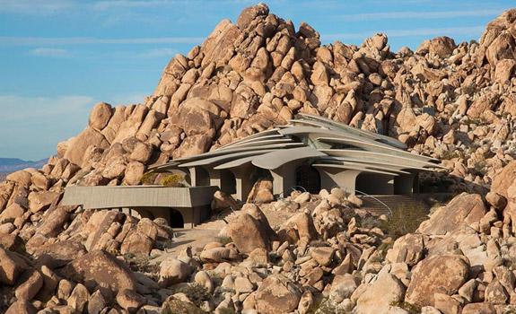 Unique Desert House