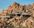 American unique desert house