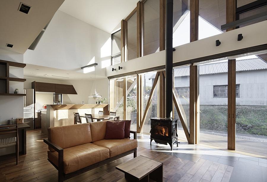 Contemporary Origami House