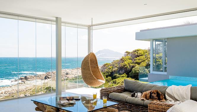 Crystal clear summer retreat