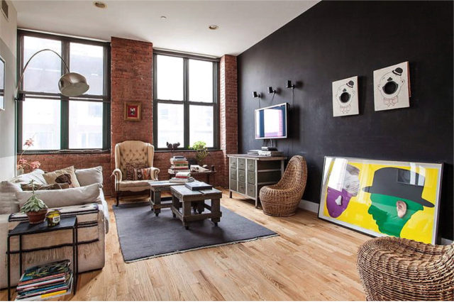 Eclectic apartment in the Bronx