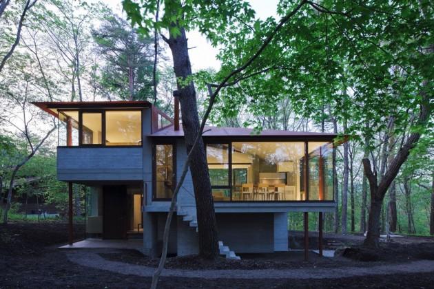 Enchanted forest villas