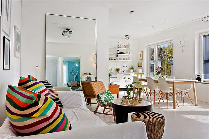 Feel at home with this joyful decor