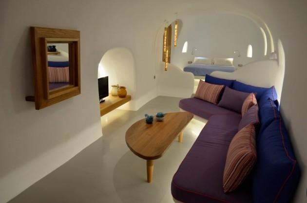 Grecian island villas