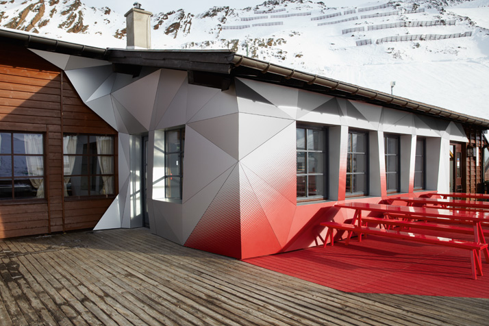 Pioneering alpine design in the Alps