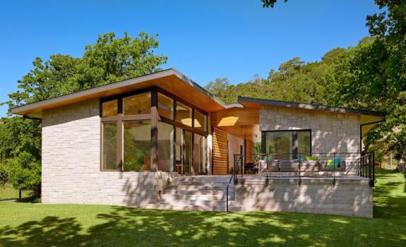 American Modern Lake House