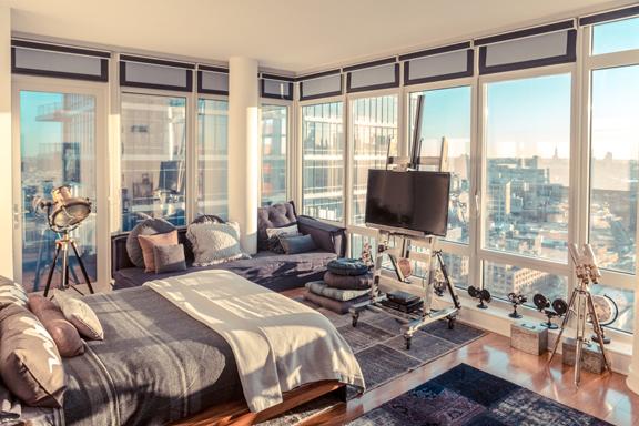 Contemporary interior design by Marie Burgos