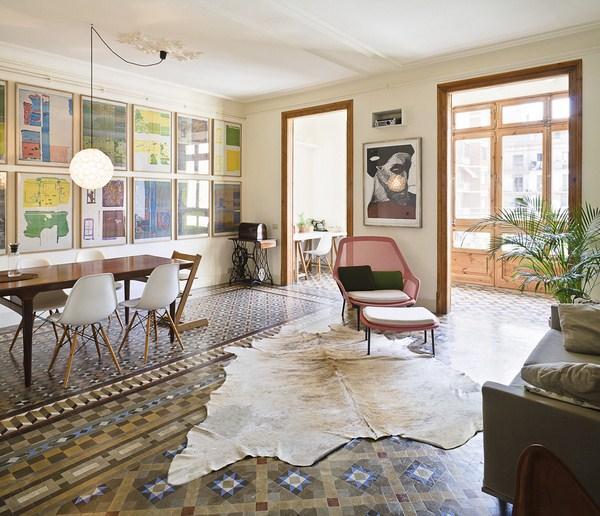 Interior modernization by the Bachs