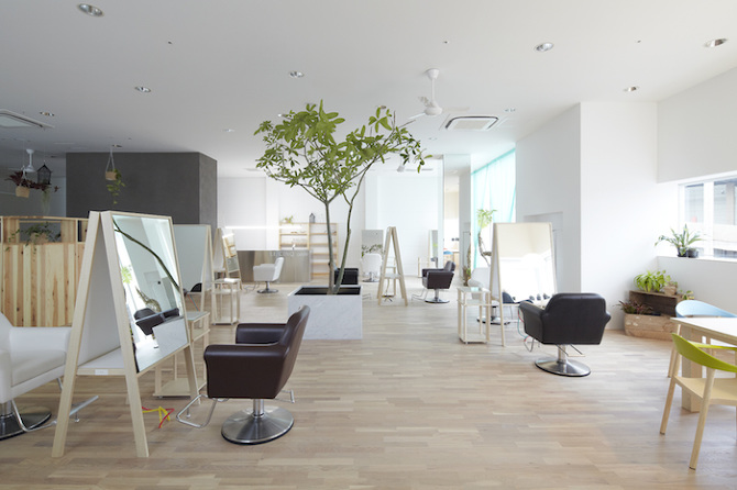 Japanese hair salon a cut above the rest adorable home for A cut above salon