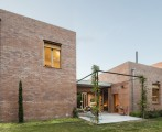 Spanish brick house