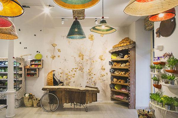 Spanish patchwork interior