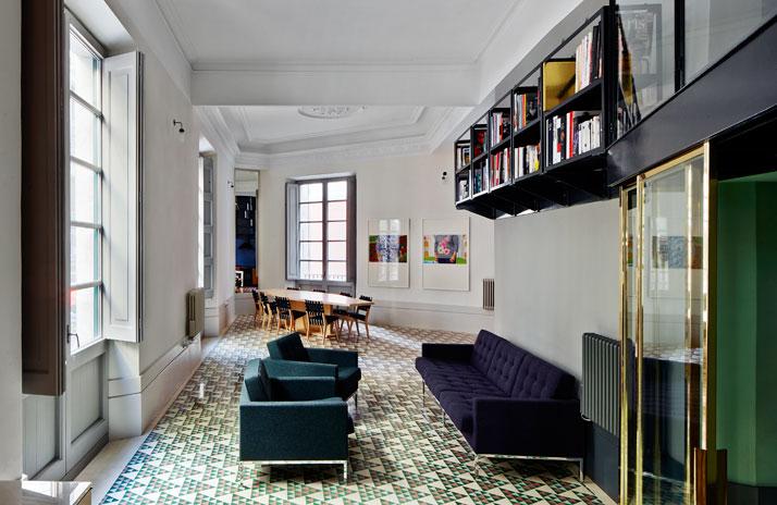 Unique apartment architecture in Spain