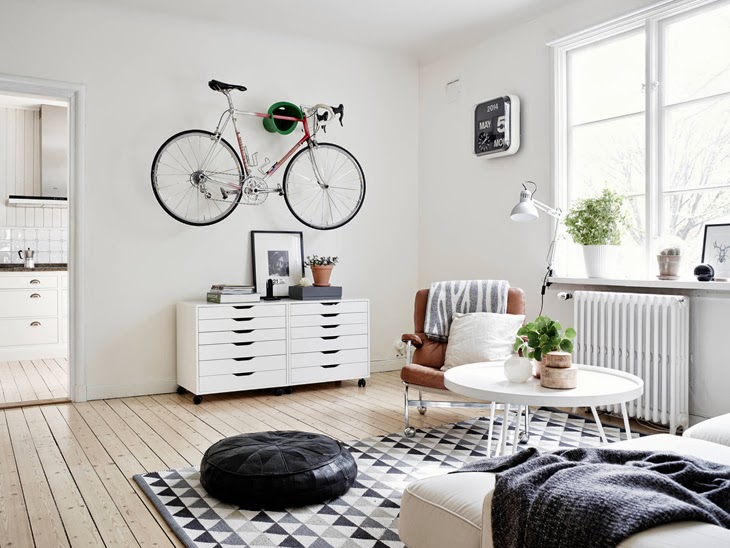 Wonderful apartment with a Scandinavian twist